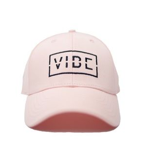 Accessories - Vibe Pink Baseball Cap Hat